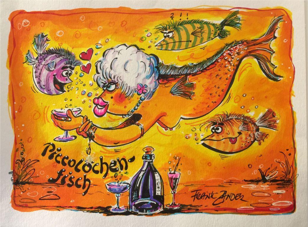 Frank Zander - Piccolöchen-Fisch
