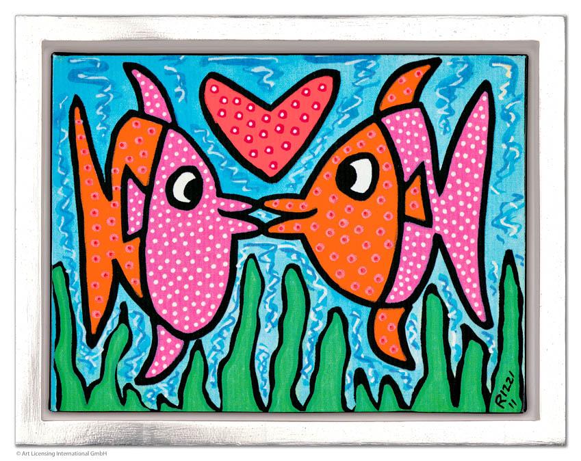 James Rizzi - Kissie fishie