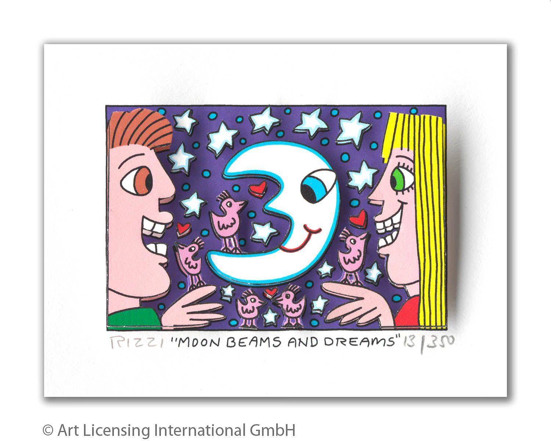 James Rizzi - Moon Beams and Dreams