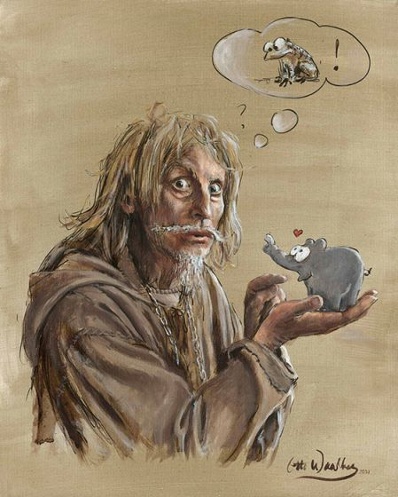 Otto Waalkes –Catweazle