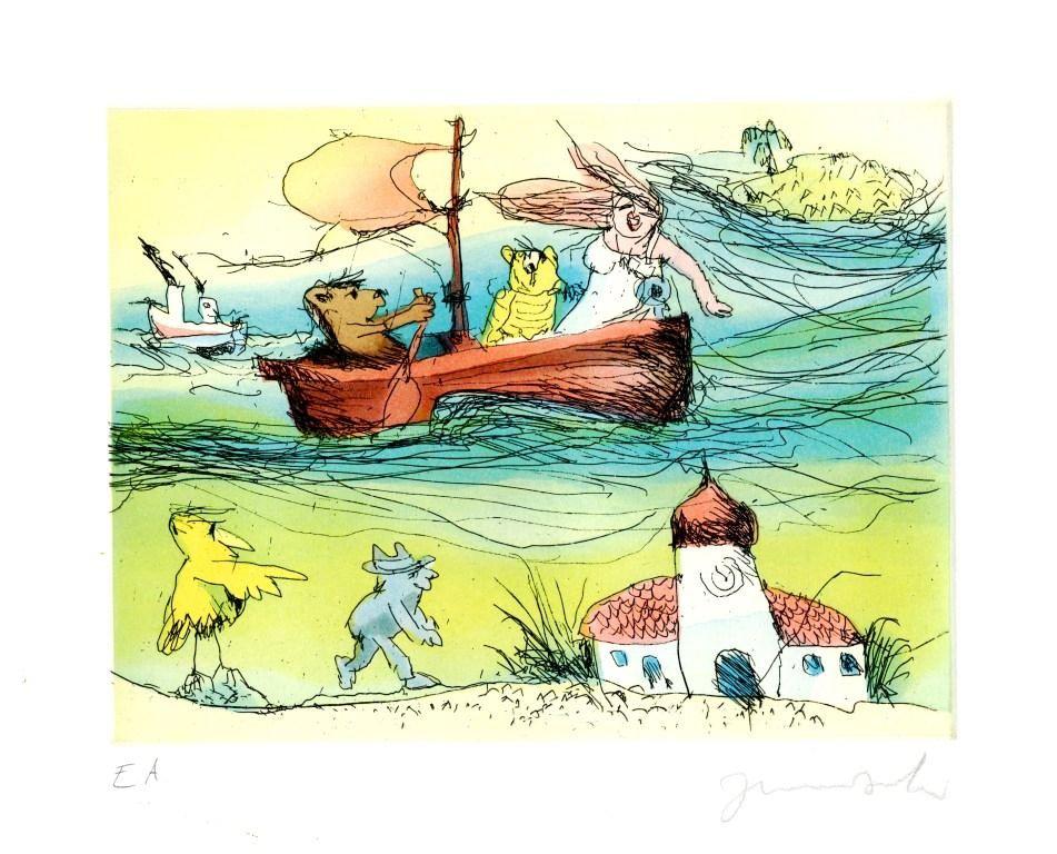 Janosch - Im Boot nach Panama !