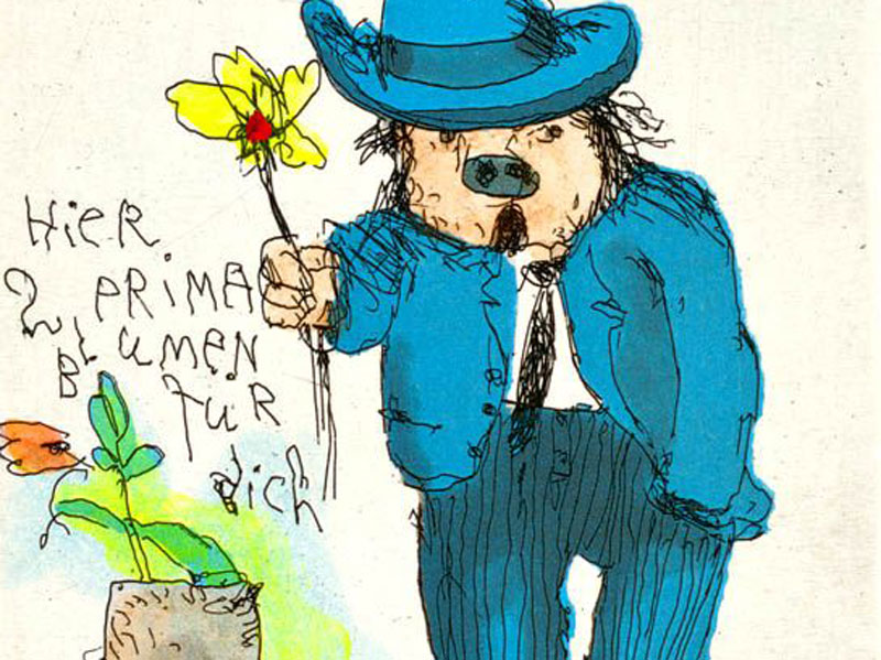 Janosch - Prima Blumen für Dich