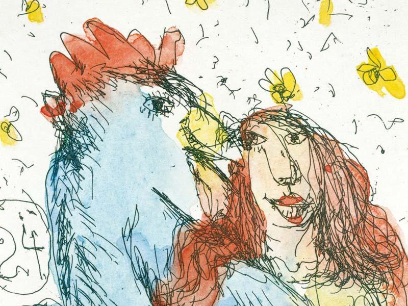 Janosch - Sie liebte einen Gockelhahn