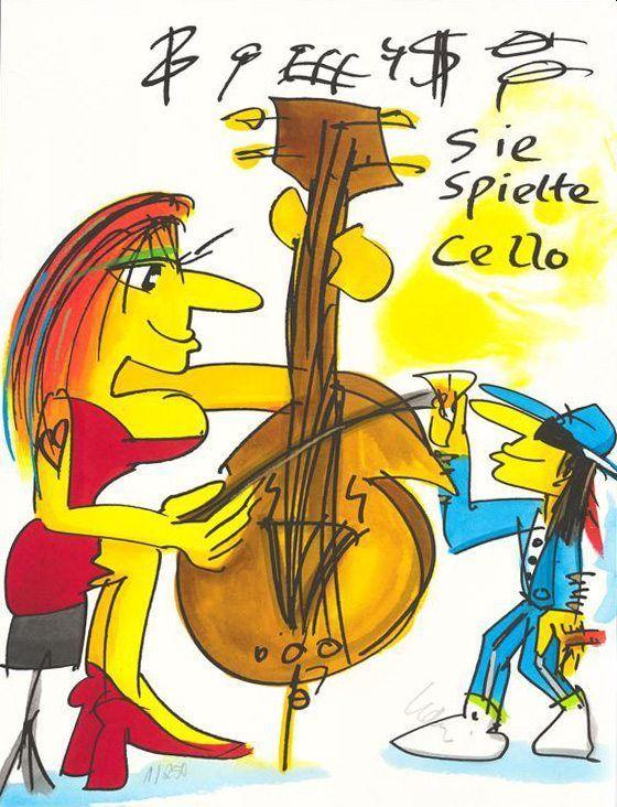 Lindenberg - Sie spielte Cello