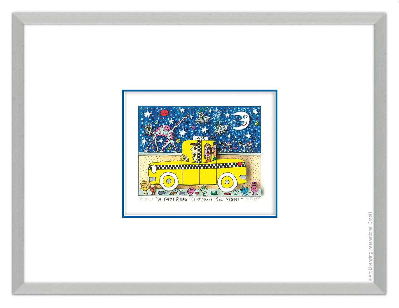 James Rizzi - A TAXI RIDE THROUGH THE NIGHT