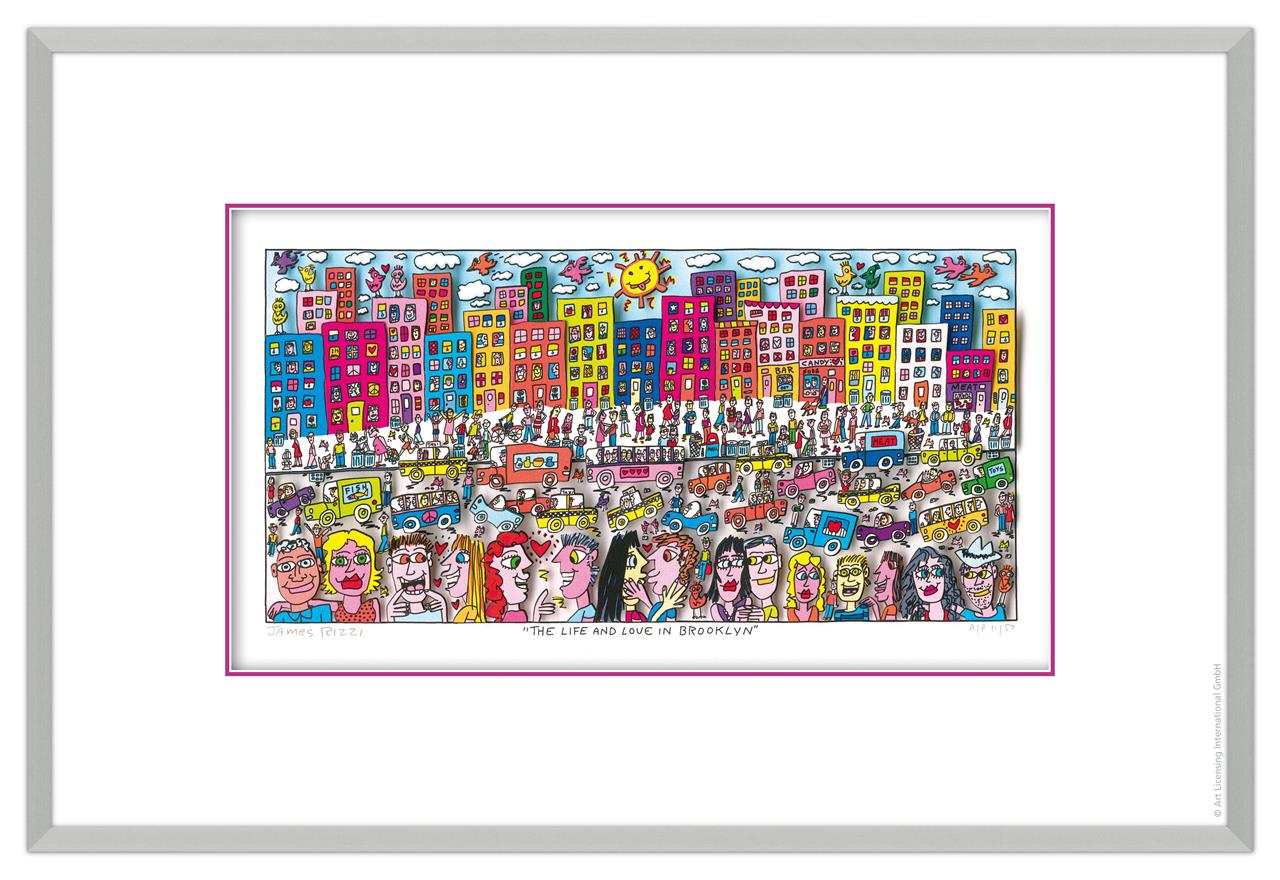 James Rizzi - THE LIFE AND LOVE IN BROOKLYN