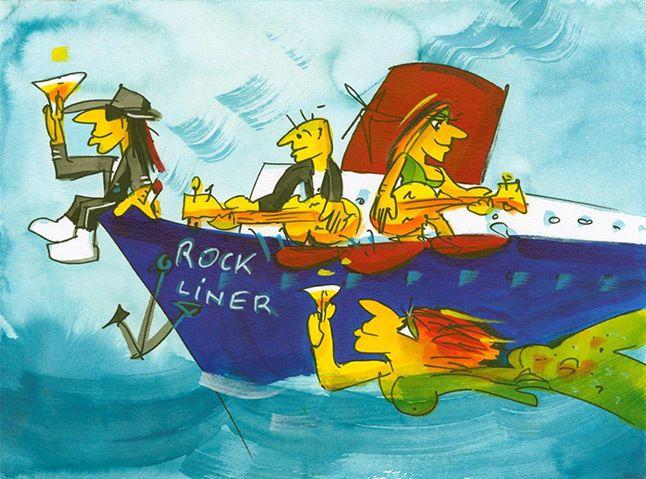 Udo Lindenberg - Rockliner
