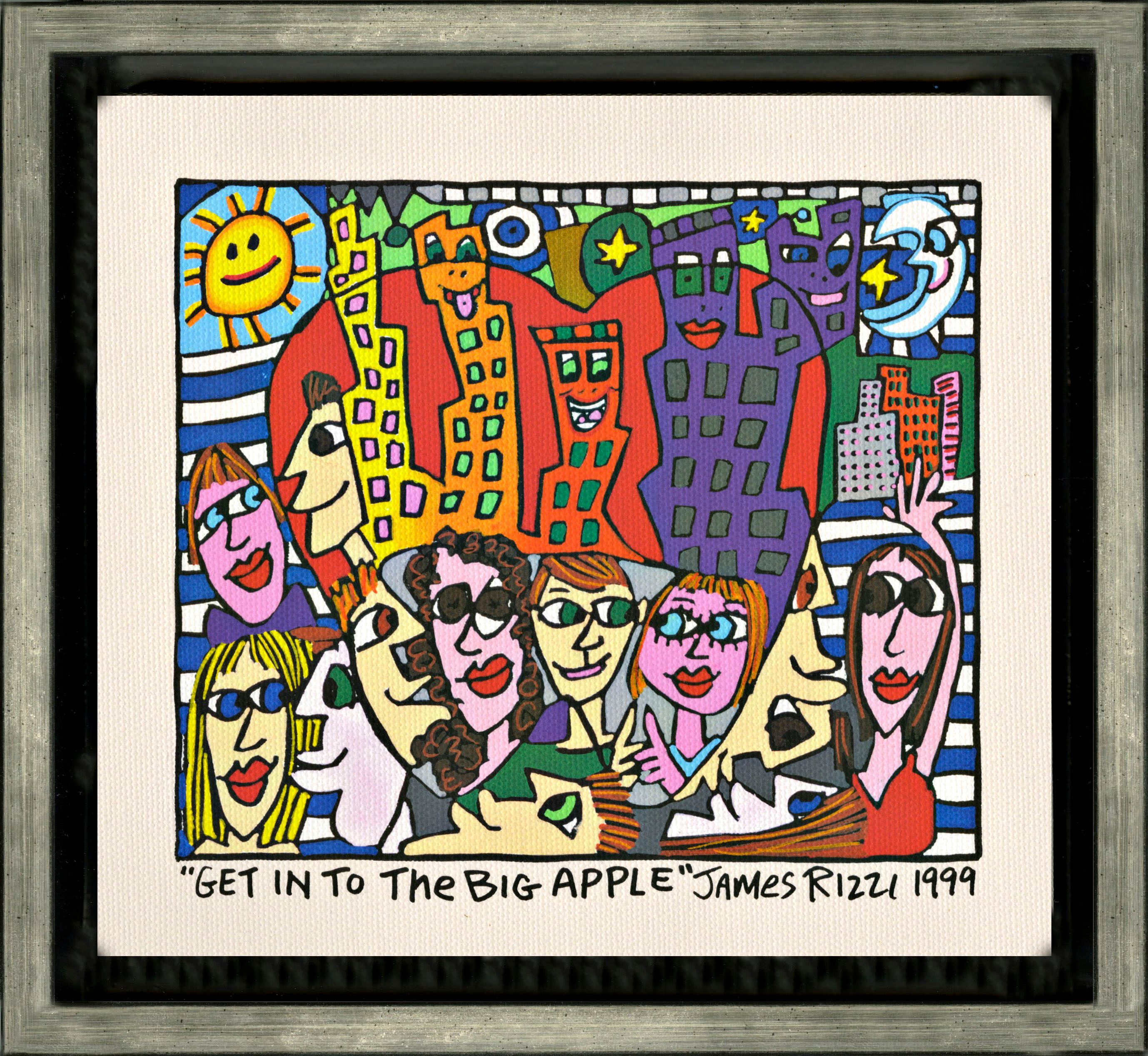 James Rizzi - Get into the big apple