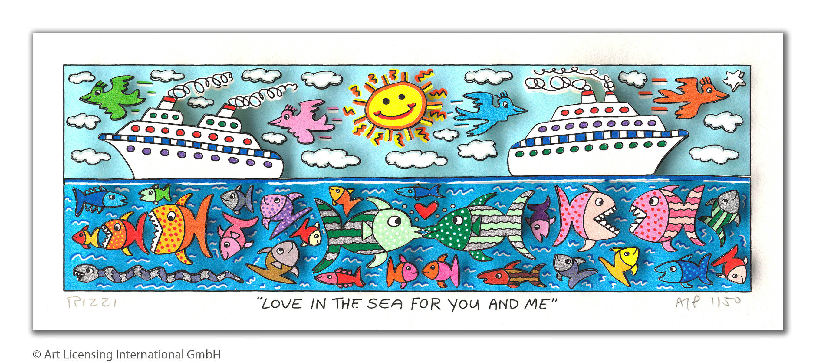 James Rizzi - Love in the Sea for you and me