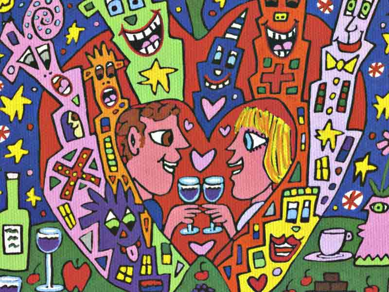 James Rizzi - Big apple romance