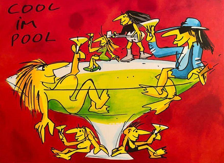 Udo Lindenberg -Cool im Pool
