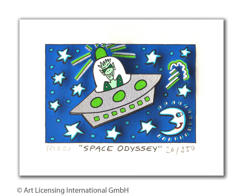 James Rizzi - SPACE ODYSSEY