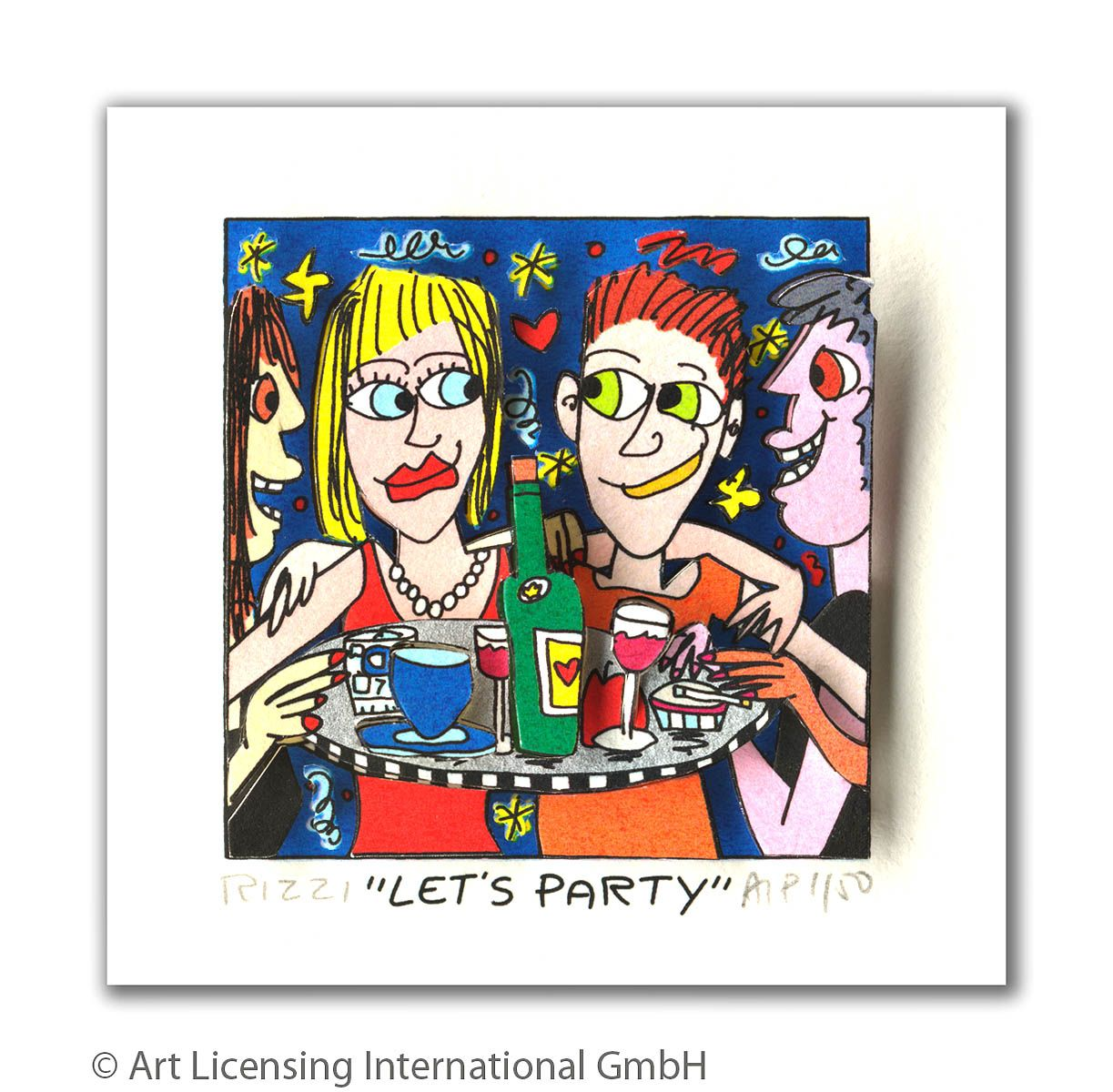James Rizzi - LET'S PARTY