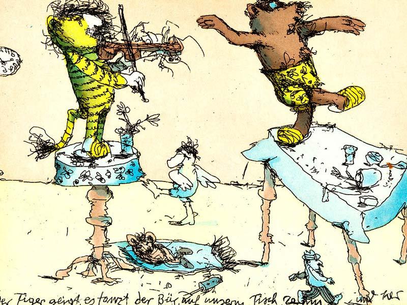 Janosch - Der Tiger geigt, es tanzt der Bär