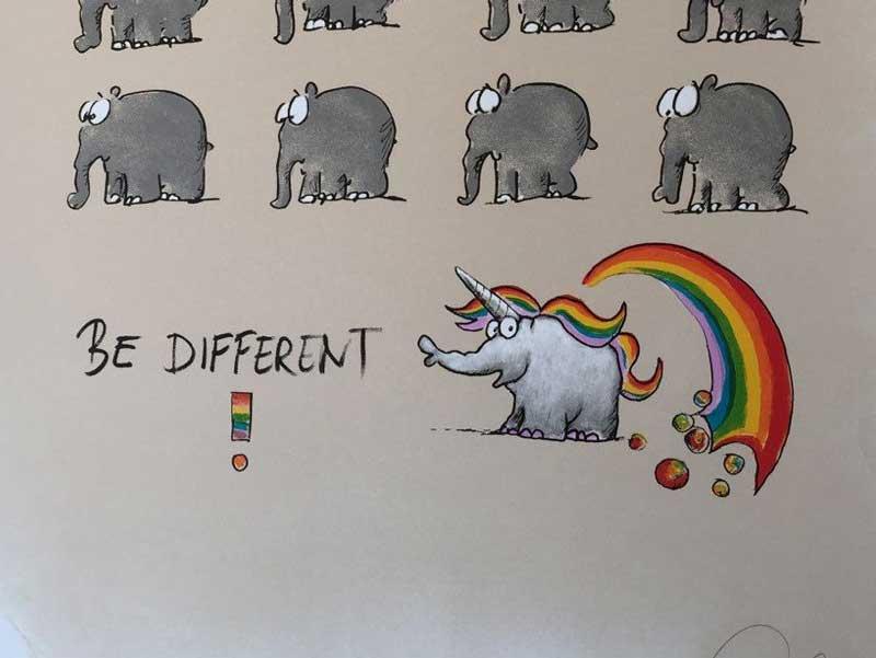 Otto Waalkes – Be Different Einhorn