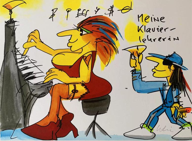Lindenberg - Meine Klavierlehrerin