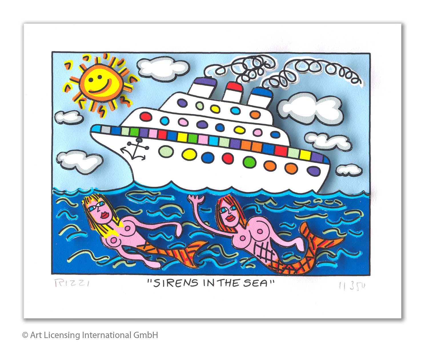 James Rizzi - Sirens in the Sea