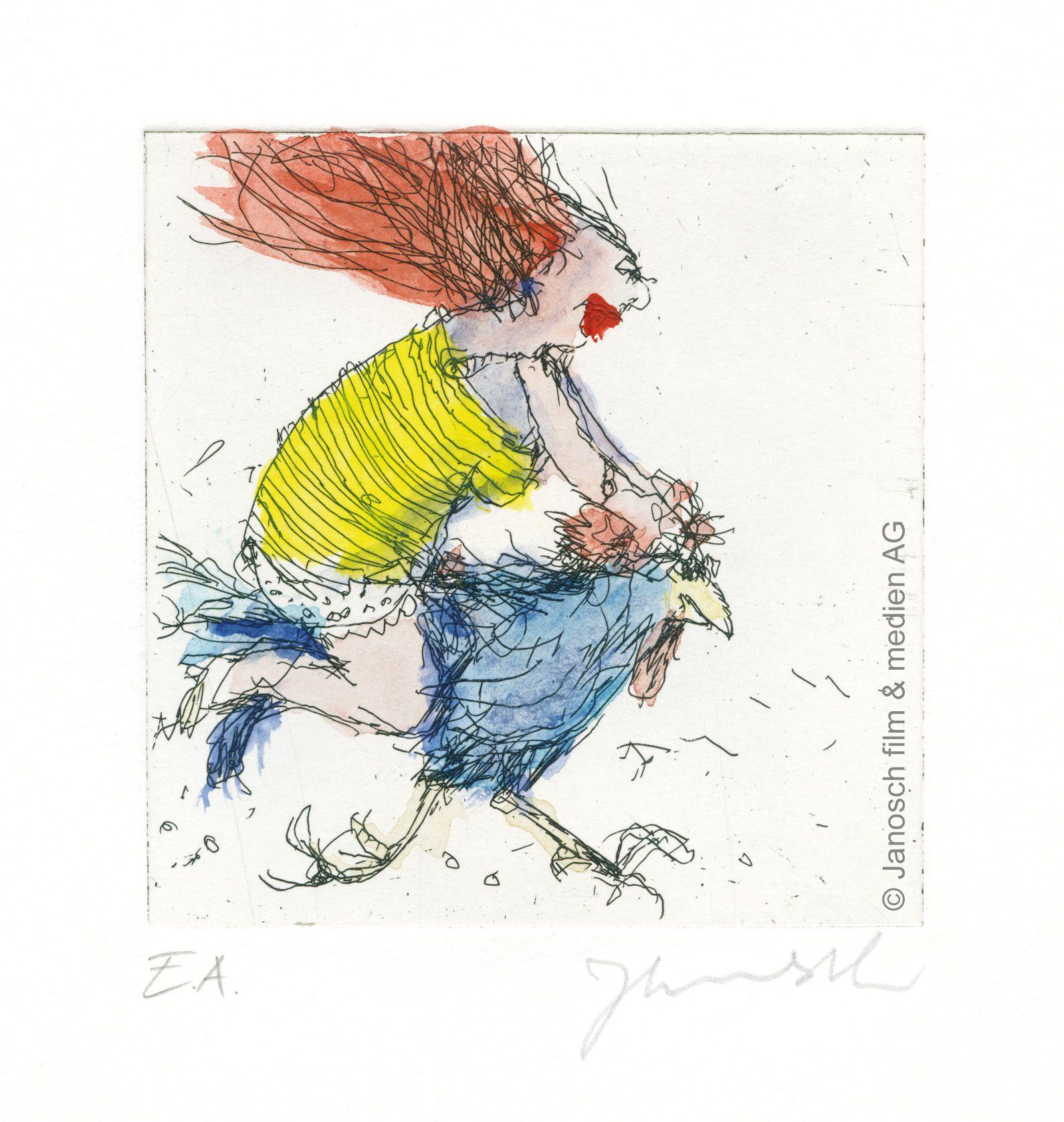 Janosch - Der Hahn ist mein Mann und ich heisse Luise