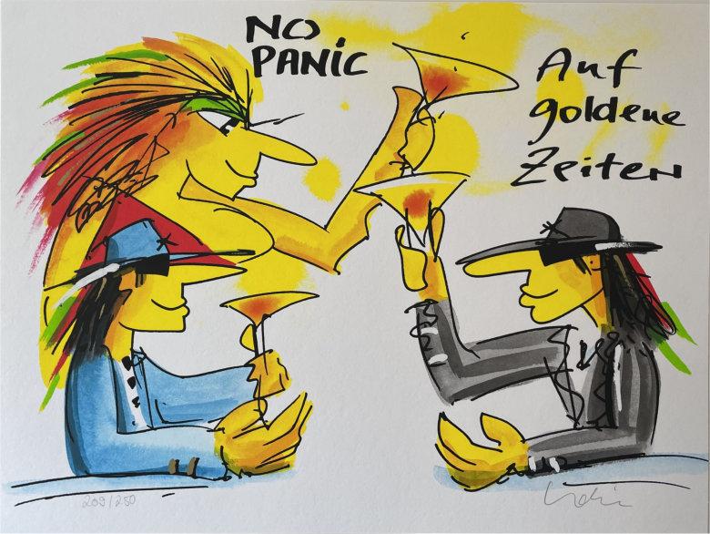 Udo Lindenberg - No Panic - Auf goldene Zeiten