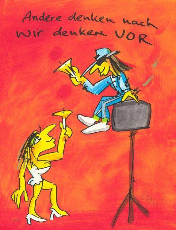 Udo Lindenberg - Andere denken nach, wir denken vor