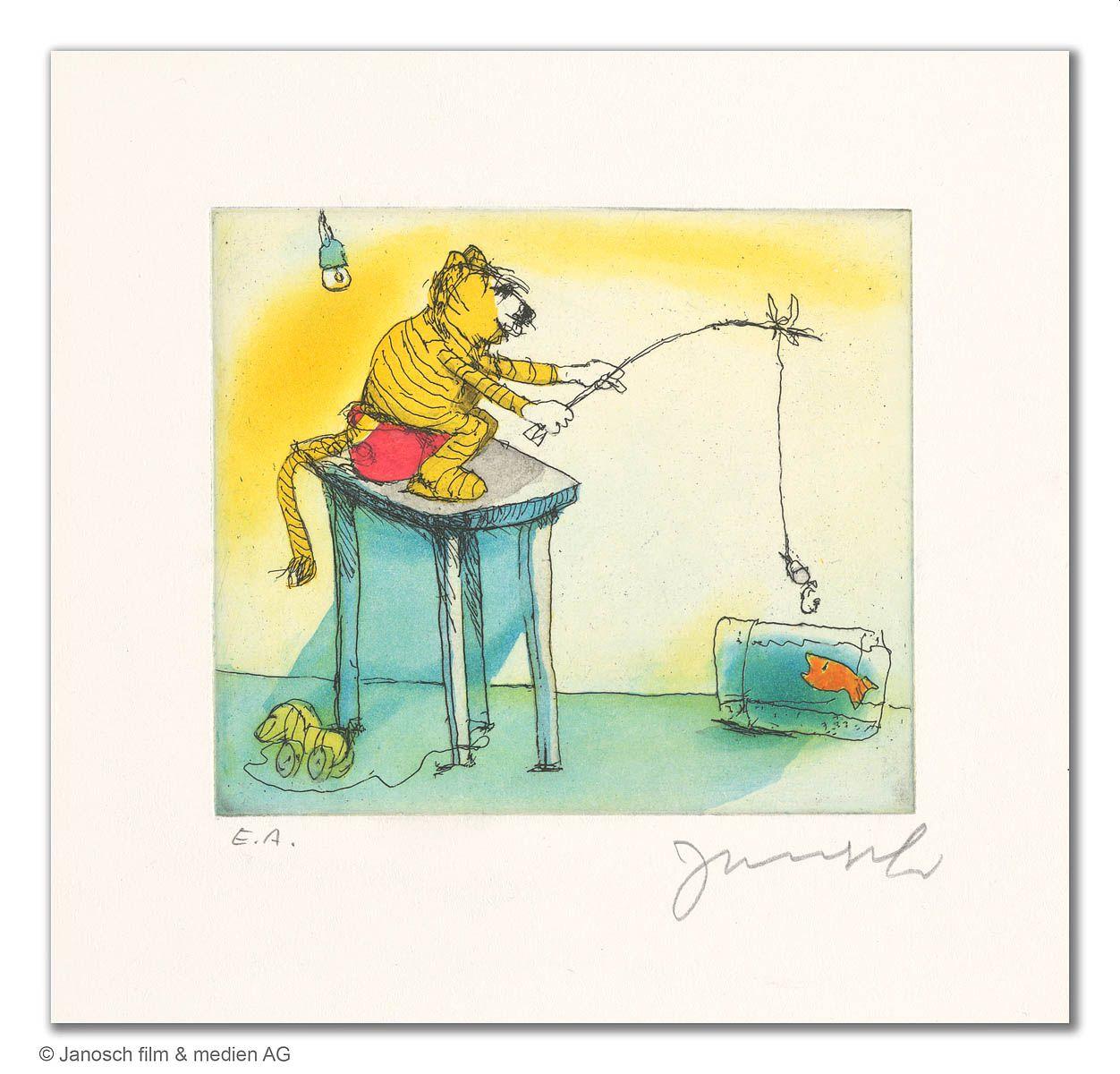 Janosch - Ein Goldfisch für den Tiger !