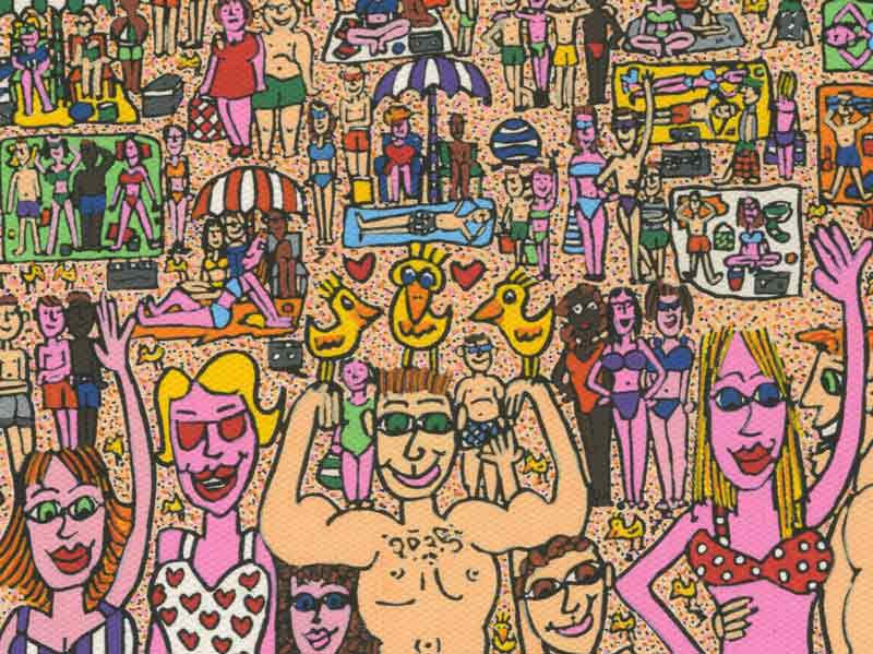 James Rizzi - It's about summertime