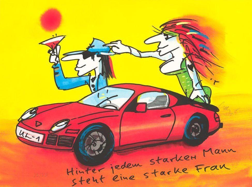 Udo Lindenberg - Porsche-Hinter jedem starken Mann steht eine starke Frau